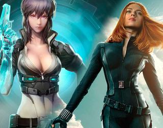 Scarlett Johansson firma para tres peliculas de Ghost in the Shell