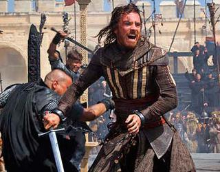 Imagenes de la pelicula de Assassins Creed con Michael Fassbender