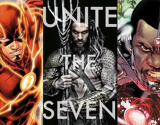 ¡Sorprendente! Primer vistazo oficial a The Flash, Aquaman y Cyborg