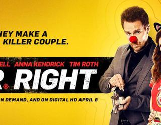 'Mr. Right' , tráiler y Poster