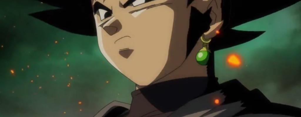Gokú Black ahora como Super Saiyajin Rose